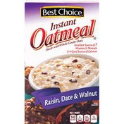 Best Choice Raisin, Date & Walnut Instant Oatmeal