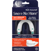 Rest Assured Mouthpiece, Anti-Snoring, Snore No More
