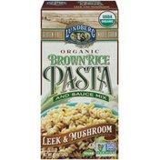 Lundberg Family Farms Leek and Mushroom Organic Brown Rice Pasta