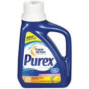 Purex Liquid Detergents With Color Safe Bleach Alternative Original Fresh Laundry Detergent