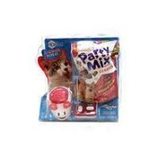 Friskies Party Mix Cat Treats Crunch Mixed Grill With Dasher Remote Control Treat Launcher