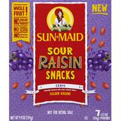 Sun-Maid Raisins, Snacks, Sour, Grape