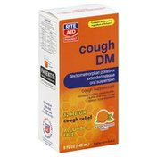 Rite Aid Cough DM, 12 Hour, Orange-Flavored Liquid 5 fl oz (148 ml)