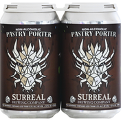 Surreal Brewing Beer, Pastry Porter