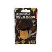 Kikkerland Design Mushroom Tool Keychain