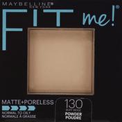 Maybelline Pressed Powder, Buff Beige 130, Matte+Poreless