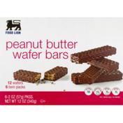 Food Lion Wafer Bars, Peanut Butter, Twin Packs