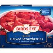 Birds Eye Deluxe Halved In Syrup Birds Eye Deluxe Halved Strawberries