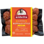 Aidells Chicken Meatballs, Buffalo Style Glazed, 12 oz. (Fully Cooked)