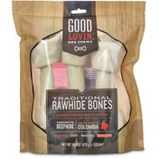 Good Lovin' Traditional Rawhide Bones Dog Chews