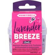 Humydry Moisture Absorber & Air Freshener, Lavender Breeze, 2 in 1