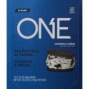 One Protein Bars, Cookies & Creme Flavored