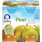 Gerber Pear Juice Fruit