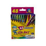 StudioArt Crayons with Box Sharpener Non-Toxic 48ct