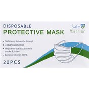 Safe Warrior Protective Mask, Disposable