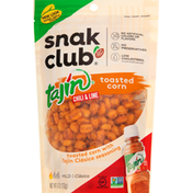 Snak Club Toasted Corn, Tajin Chili & Lime, Mild