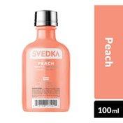 SVEDKA Peach Flavored Vodka Plastic Bottle