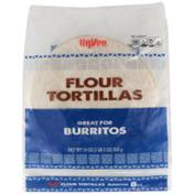 Hy-Vee Flour Burritos Tortillas