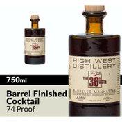 High West The 36th Vote Barreled Manhattan Whiskey