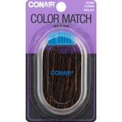Conair Color Match Bobby Pins Brunette