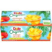 Dole Fruit Bowls In Box Organic Mango Chunks Dole Organic Mango Chunks