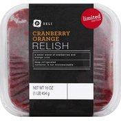 Publix Deli Relish, Cranberry Orange