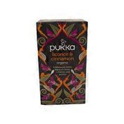 Pukka Licorice & Cinnamon Tea