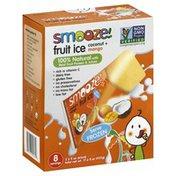 Smooze Fruit Ice, Coconut + Mango
