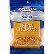 Kraft Shredded Cheese, Triple Cheddar