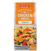 Stater Bros Unsalted Chicken Broth