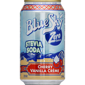 Blue Sky Soda, Stevia, Cherry Vanilla Creme