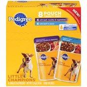 Pedigree Little Champions Casserole Dinner & Butcher's Stew Wet Dog Food