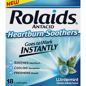 Rolaids Heartburn Soothers, Antacid, Wintermint