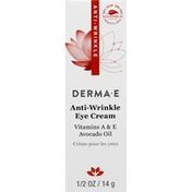 DERMA E Eye Creme, Anti-Wrinkle