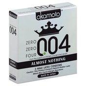 Okamoto Condoms, Male Latex, Almost Nothing 004