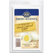 Crystal Farms Fresh Accents Peeled Hard Cooked Eggs