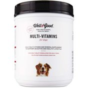 Well & Good Multi-Vitamins Chewable Tablets For Dogs