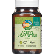Full Circle Acetyl L-Carnitine 500 Mg Supports Memory & Mental Wellbeing Dietary Supplement Vegan Capsules