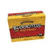 Butcher Boy Case Of Burrito Red Chile Beef And Bean