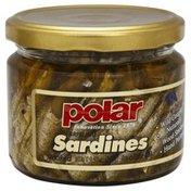 Polar Sardines, Brisling, Smoked, in Olive