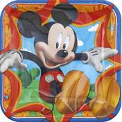 DesignWare Plates Mickey Mouse 9 IN.
