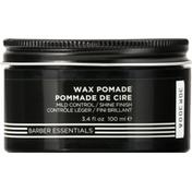 Redken Wax Pomade, Mild Control, Shine Finish