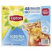 Lipton Black Iced Tea Bags Unsweetened