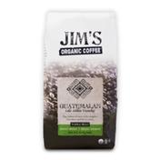 Jim's Organic Coffee Guatemalan Lake Atitlan Tzanchaj, Medium Roast, Whole Bean Coffee