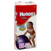 Huggies Diapers, Size 5 (Over 27 lb), Disney, Mega