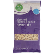 Food Club Blanched Roasted & Salted Peanuts