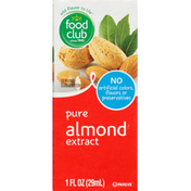 Food Club Almond Extract, Pure