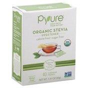 Pyure Organic Stevia Powdered Sweetener Packets