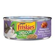 Friskies Indoor Homestyle Turkey Dinner Canned Cat Food