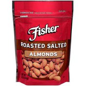 Fisher Roasted Salted Almonds